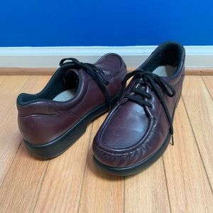 SAS Take Time Lace Up Comfort Loafers Narrow